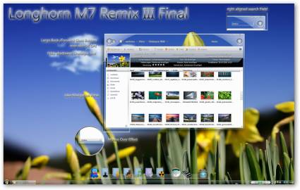 M7 Remix III Windows 7 Theme