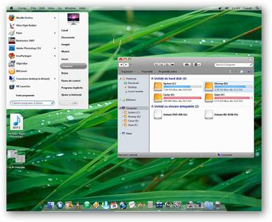 Leopard OSX Windows 7 Theme
