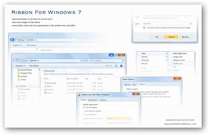 Ribbon Windows 7 Theme