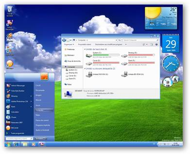 Luna Royal Windows 7 Theme