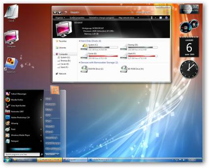 SiCo Windows 7 Theme