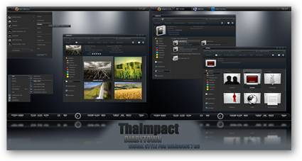 ThaImpact Windows 7 Theme