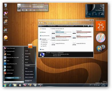 Verdesh SteelFlash Windows 7 Theme