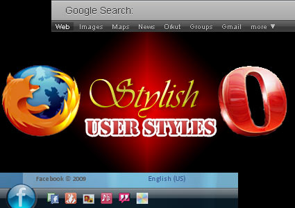 Skin any website with Stylish for Opera and Firefox