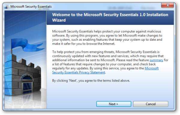 Microsoft Security Essentials - Free Antivirus from Microsoft