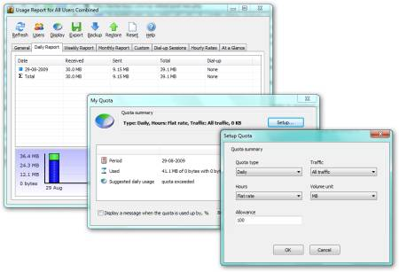Networx - Bandwidth Monitor and Network Tool