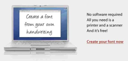 fontcapture - Create Fonts Using Your Own Handwriting
