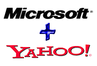 Yahoo merged with Microsoft