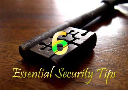 6 Tips fo Stay Secure Online