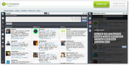 Sobees Twiter Web Client