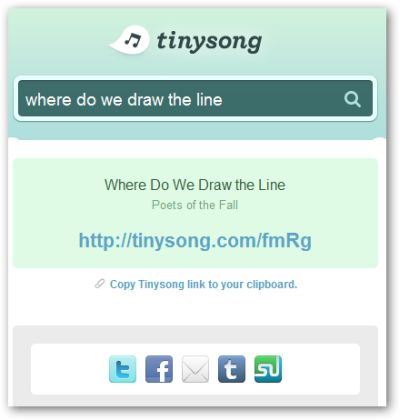 TinySong-Share-Songs
